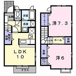 [テラスハウス] 神奈川県横浜市都筑区新栄町 の賃貸【/】の間取り