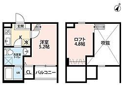I-kea(アイケア)[1階]の間取り