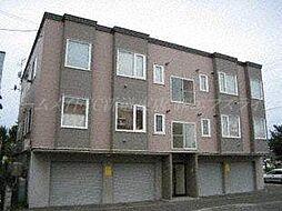 北海道札幌市東区北四十八条東6の賃貸アパートの外観