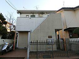 埼玉県草加市青柳6の賃貸アパートの外観