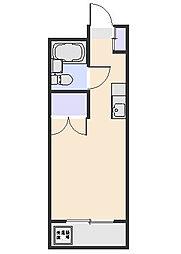 ファミール北野[301号室]の間取り