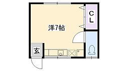 喜代田文化[3号室]の間取り