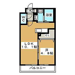 Ritz GRANDE N19[1階]の間取り