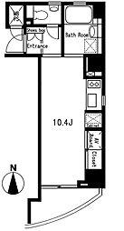 プライムアーバン麻布十番II[8階]の間取り