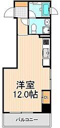 ミテッツァ蔵前[3階]の間取り