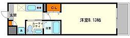 ウインズコート新大阪[5階]の間取り