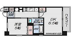 エステムプラザ梅田・中崎町ツインマークス ノースレジデンス[2階]の間取り