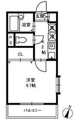 千葉県船橋市薬円台6丁目の賃貸アパートの間取り