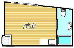piccolo grande門前仲町[3階]の間取り