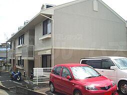 京都府京都市西京区山田平尾町の賃貸アパートの外観