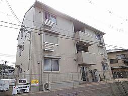 大阪府藤井寺市沢田3丁目の賃貸アパートの外観