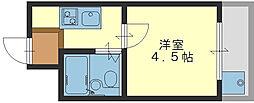 メゾンアルエ[2階]の間取り