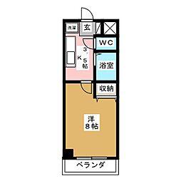 パルグランドマンション[1階]の間取り
