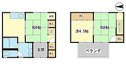 西飾磨駅 4.5万円