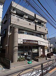 東京都日野市日野本町4丁目の賃貸マンションの外観