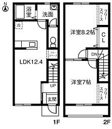 (仮)愛知県知立市新林町MP A[103号室]の間取り