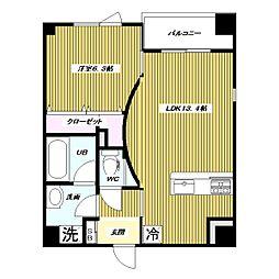 仮 高島平1丁目 大和ハウス施工 新築賃貸マンション[8階]の間取り