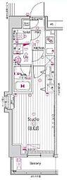 ガーラ・ステージ練馬[4F-B2type号室]の間取り