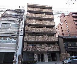 京都府京都市中京区西洞院通三条下る柳水町の賃貸マンションの外観
