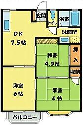 メゾン高橋 堀兼[2階]の間取り