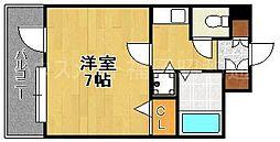 ライオンズマンション大手門第2[4階]の間取り