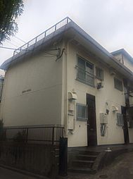 東京都世田谷区奥沢3丁目の賃貸アパートの外観