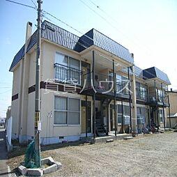 北海道江別市野幌屯田町の賃貸アパートの外観