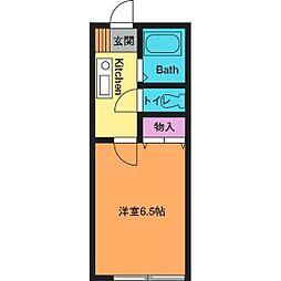 ボンメゾン妻田[2階]の間取り