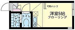 ユナイト 矢向ルーチェ・エテルナ[2階]の間取り