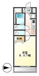 プレストンズ新栄[4階]の間取り