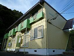 コーポジュネスA棟[2階]の外観