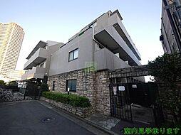 東京都新宿区市谷台町の賃貸マンションの外観