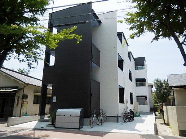 兵庫県尼崎市塚口本町3丁目の賃貸アパートの外観