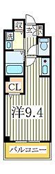 ベル・オトンヌ[2階]の間取り
