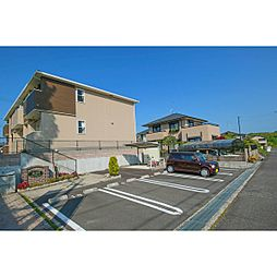 岡山県赤磐市桜が丘東4丁目の賃貸アパートの外観