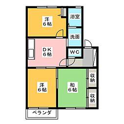 ソフィア[2階]の間取り