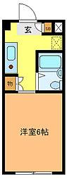 千代ビル[307号室]の間取り