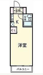 鎌ケ谷ハイツ[4階]の間取り