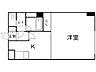 間取り,1DK,面積36.65m2,賃料4.7万円,札幌市営東西線 西18丁目駅 徒歩4分,札幌市電2系統 西15丁目駅 徒歩8分,北海道札幌市中央区南四条西18丁目2番23号