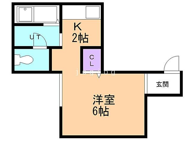 ホームズ jkステージn14 a 1k 賃料2 6万円 1階 21 5 賃貸アパート住宅情報