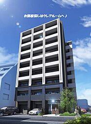 プラシード新町[2階]の外観