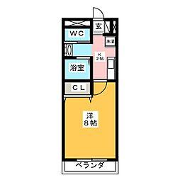 パンシオン・S[2階]の間取り