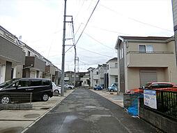 埼玉県上尾市二ツ宮の賃貸アパートの外観