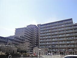 ファミールハイツ上野芝3番館[7階]の外観