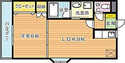 センチュリオン黒崎[3階]の間取り