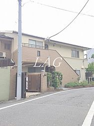 東京都目黒区上目黒3丁目の賃貸アパートの外観