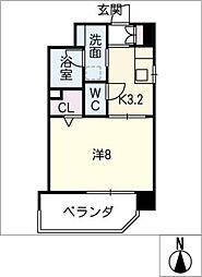 Mio・Reve[8階]の間取り
