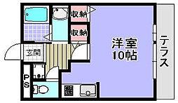 ルネ・マ・メゾン[103号室]の間取り