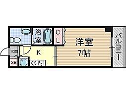 サンピラー茨木by KアンドI[5階]の間取り
