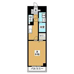 プランドールM[4階]の間取り